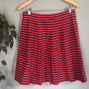 J.Crew Striped Skirt with Pockets